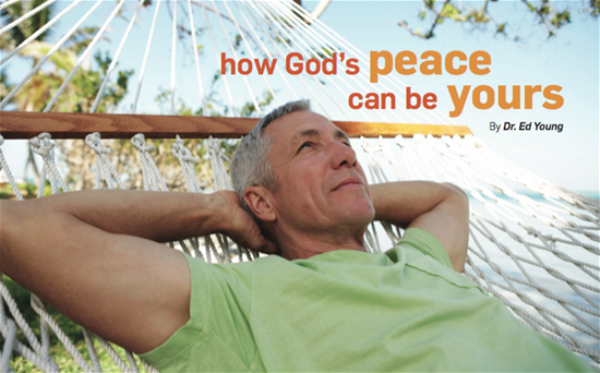 How God's Peace Can Be Yours